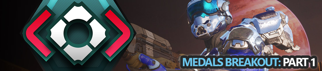 Halo 5 Medals Breakout Part 1: General Medals
